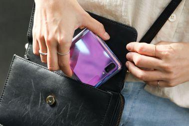 自拍潮人必備:三星Galaxy Z Flip翻蓋摺疊挑戰 #頑美角度