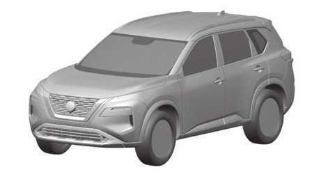 大改款Nissan X-Trail/Rogue專利圖曝光!這造型合你胃口嗎?
