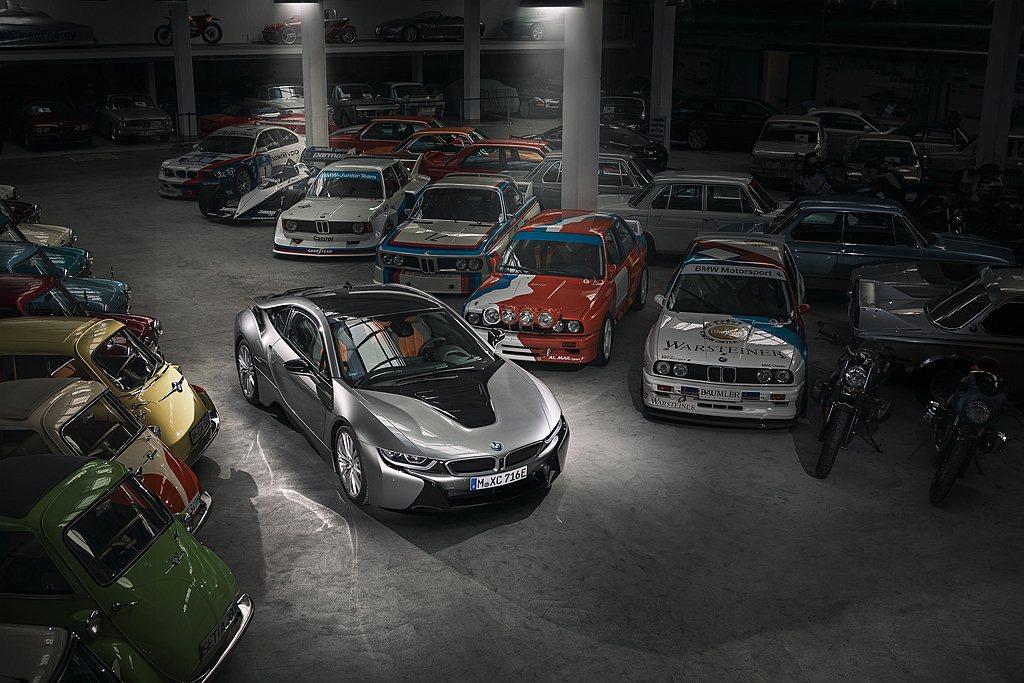 BMW日前確認將於今年稍晚停止生產i8跑車,並將此車系劃下句點。 圖/BMW提供