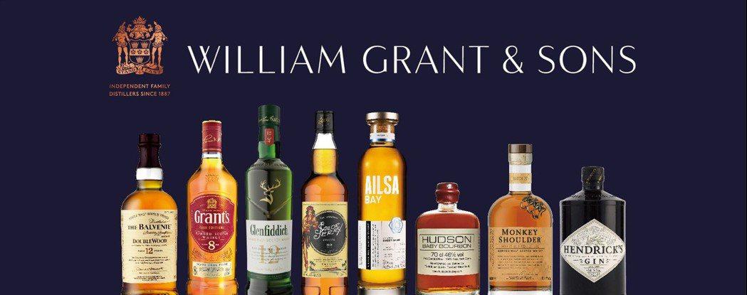 格蘭父子洋酒集團宣布將生產500萬公升乙醇,製造酒精洗手液。格蘭父子/提供