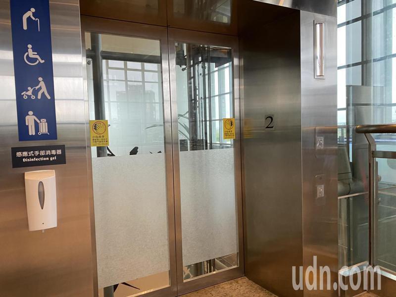 電梯示意圖。記者劉星君/攝影
