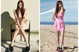 宋慧喬清新長髮拍涼鞋形象照 變身美腿海灘少女 網:「想和女神一起去旅行」