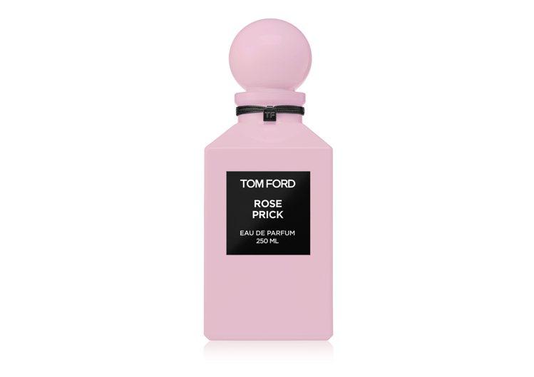 私人調香系列禁忌玫瑰香水,250ML,26,000元。圖/TOM FORD提供