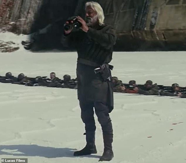 安德魯傑克曾在「星際大戰」系列影片扮演反抗軍。圖/摘自Lucas Films