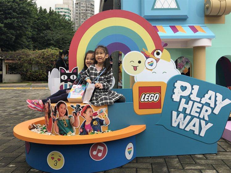 「LEGO Play Her Way做個好女孩」活動,完全免費,但現場有身高與年...
