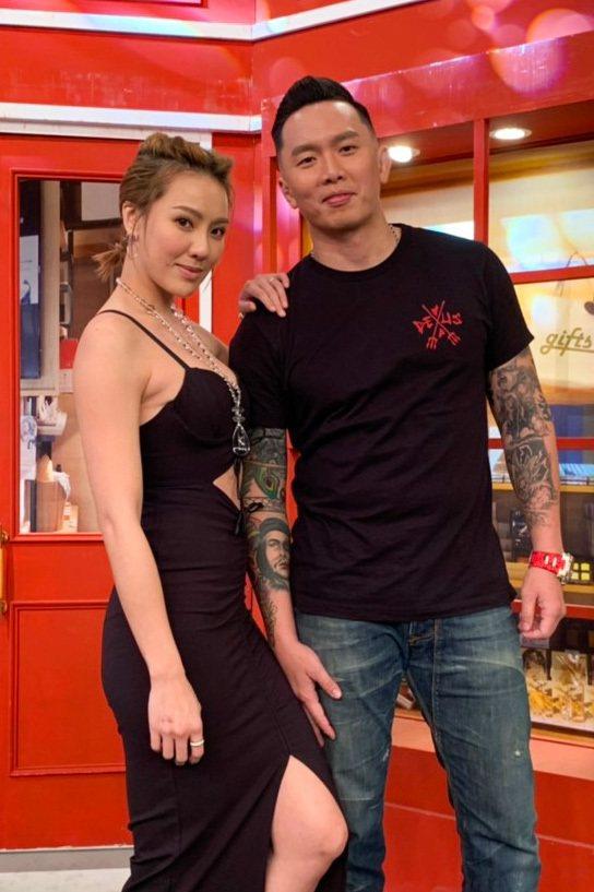 劉雨柔(左)控訴蜜月被老公給毀了。圖/衛視提供