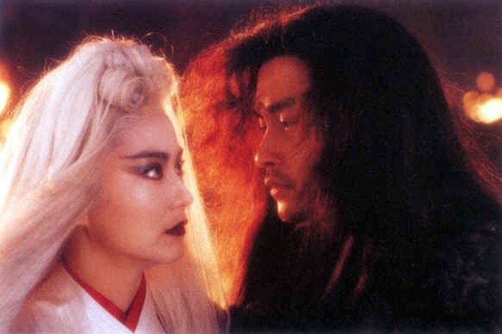 張國榮逝世17年,經典愛情代表作品「白髮魔女傳」重映。圖/華映提供