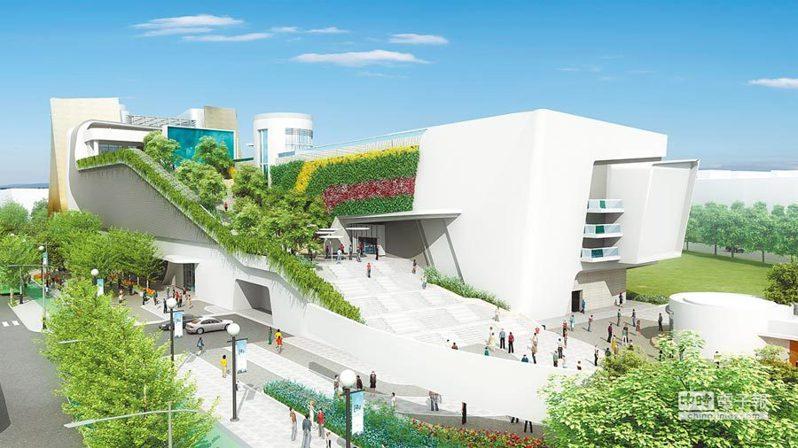 國家級的「國家漫畫博物館」將設立於中台灣電影中心內,此為示意圖。圖/台中市新聞局提供