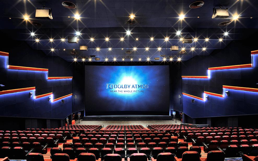國賓大戲院巨幕廳已經因為新冠肺炎衝擊,減少排映場次,甚至一整天休息。圖/摘自國賓