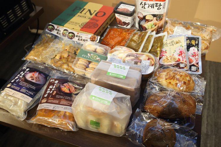 「聯名居家套餐7日組」,每套售價3,980元。記者陳睿中/攝影