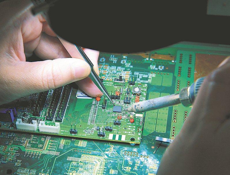 IC設計、CIS兩族群獲買盤積極卡位。 (本報系資料庫)