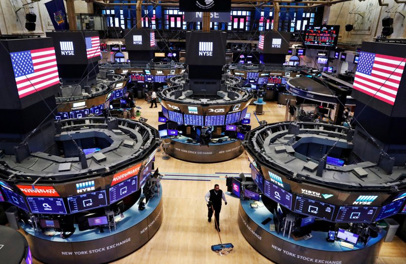 華爾街第2季開季不利,股市下跌。 路透社