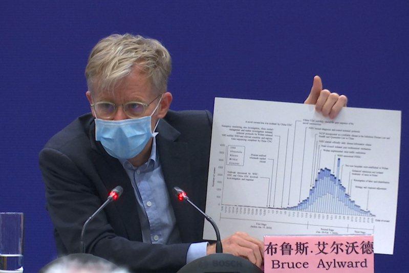 世界衛生組織高級顧問艾沃德(Bruce Aylward)。 美聯社資料照片