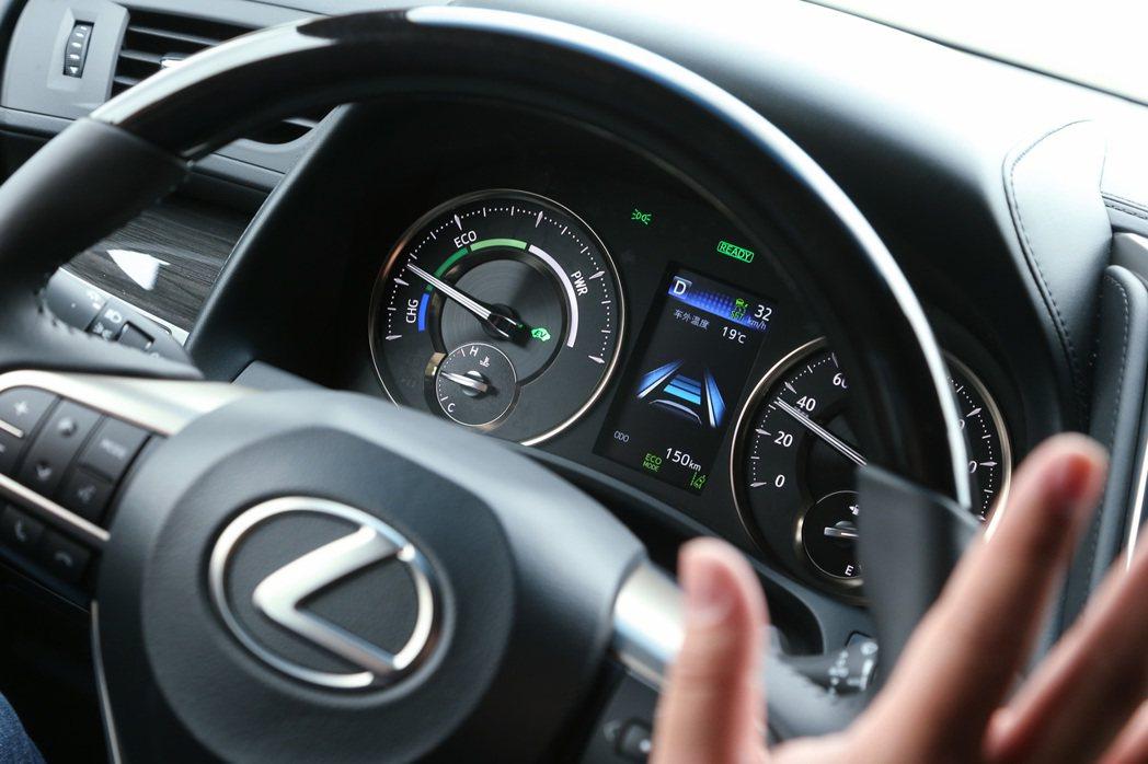 全速域DRCC及LTA車道循跡輔助,提供Level 2半自動駕駛功能。 記者陳立...