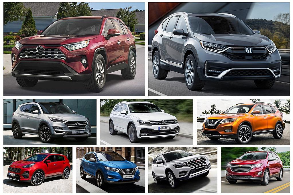 Toyota RAV4百萬銷售指日可待?2019全球休旅銷售排名出爐
