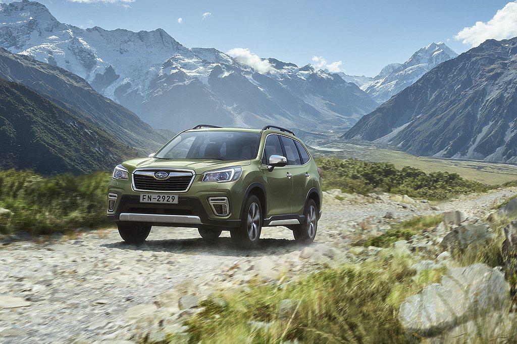 本月購車Subaru Forester享有「90萬36期0利率」購車優惠;跨界潮...