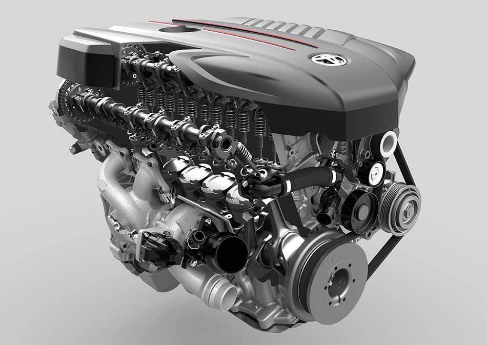 Toyota/BMW B58直列六缸渦輪增壓引擎。 摘自Toyota