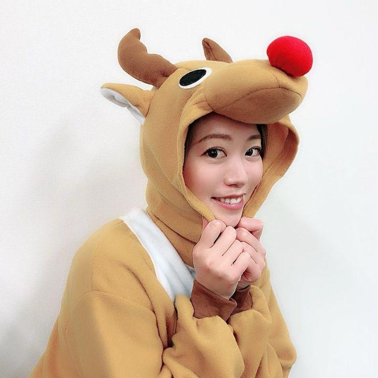 智茉璃奈可愛模樣網友喊話「快出道」。圖/擷自IG