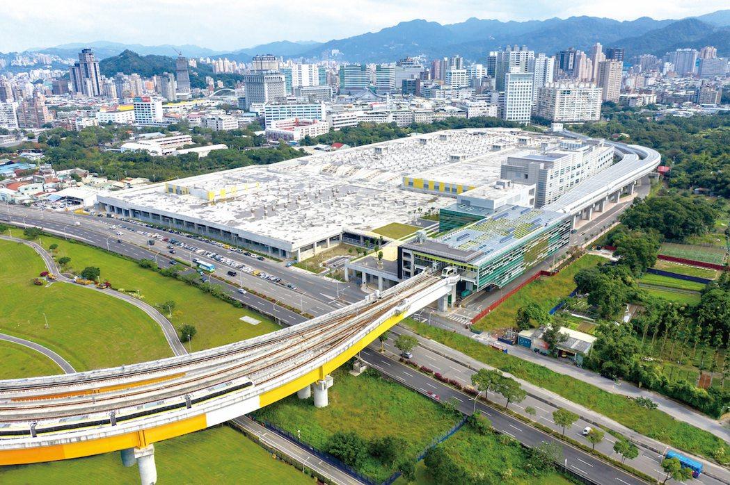 十四張捷運站。圖/長虹建設提供