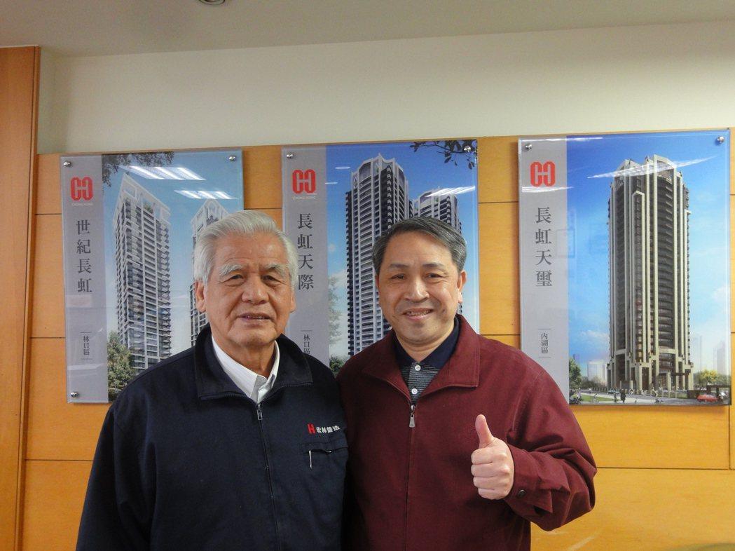 《運巢社》社長倪子仁(右)認為,選擇口碑建商很重要。圖/倪子仁提供