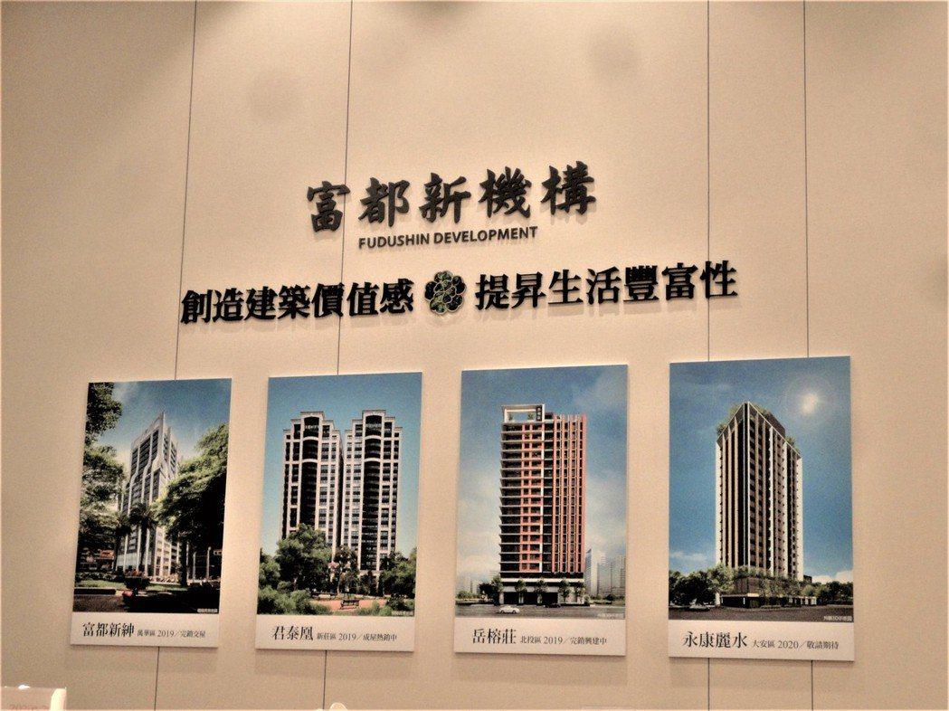 富都新機構建案獲得市場及購屋者的肯定與認同。圖/倪子仁提供
