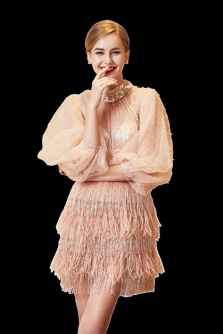 Jasmine Galleria以手工訂製婚紗、禮服、服裝為主。圖/取自Jasm...