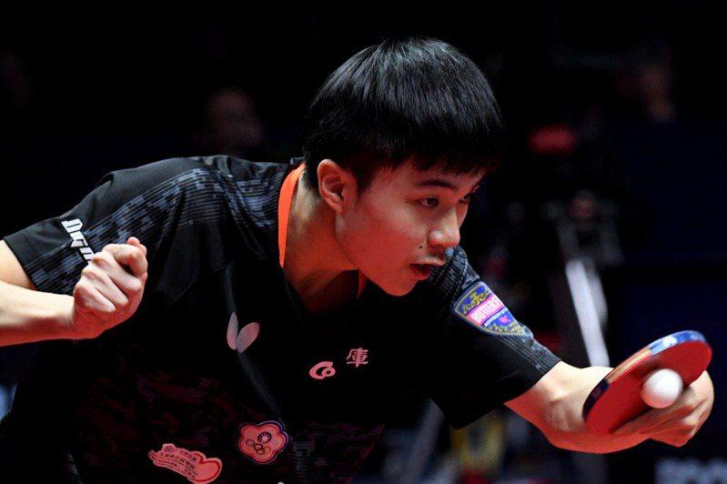 ITTF擬創「大滿貫」取代單項世錦賽,圖為台灣選手林昀儒。 新華社