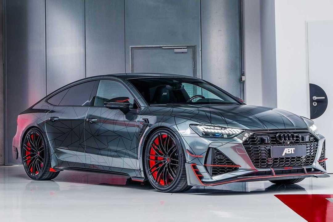 ABT打造的地表最強Audi RS7-R Sportback終於現身!
