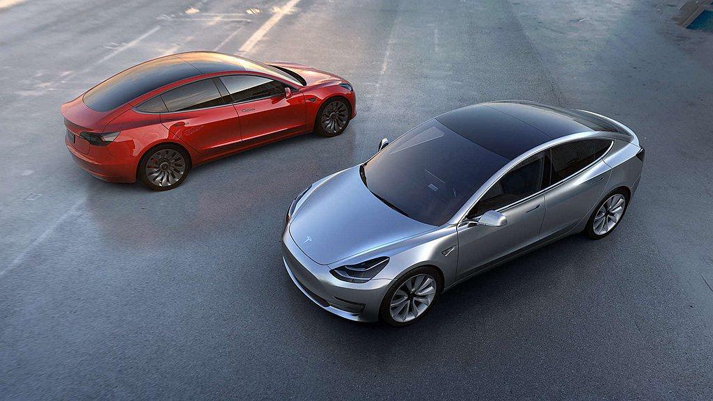 特斯拉Model 3為2019年全球賣最多的電動車。 圖/Tesla提供