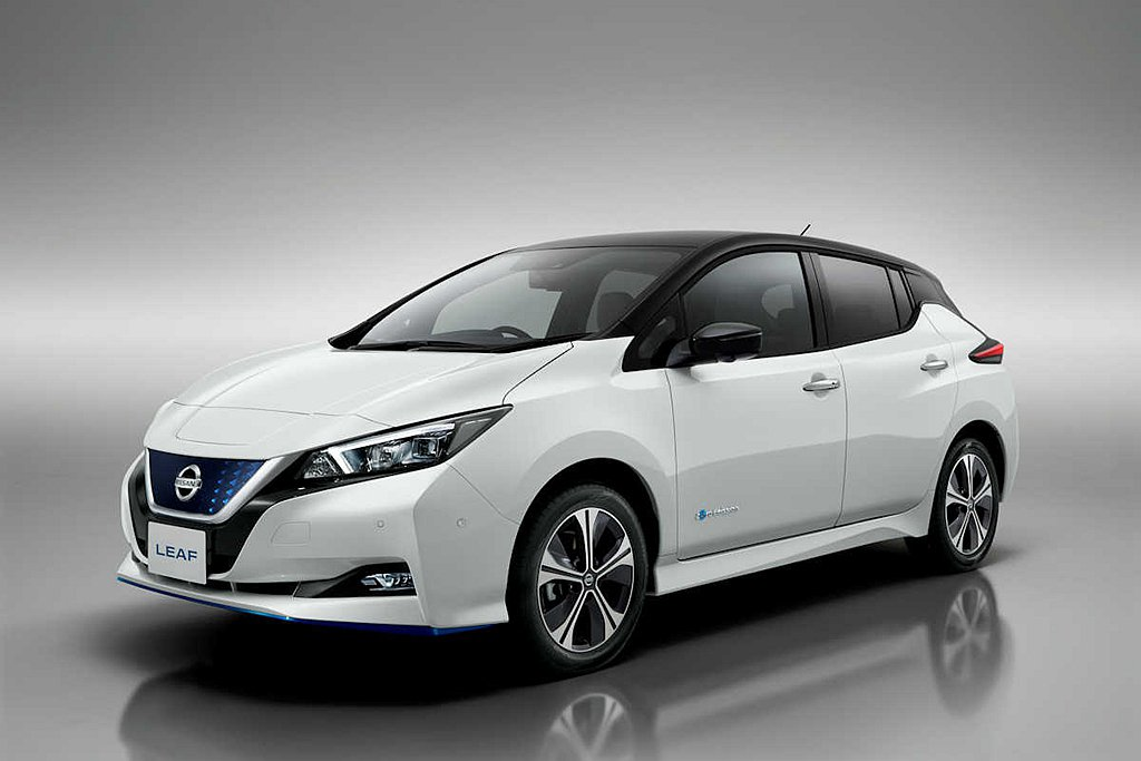 Nissan Leaf在2019年共賣出6.9萬輛成績。 圖/Nissan提供