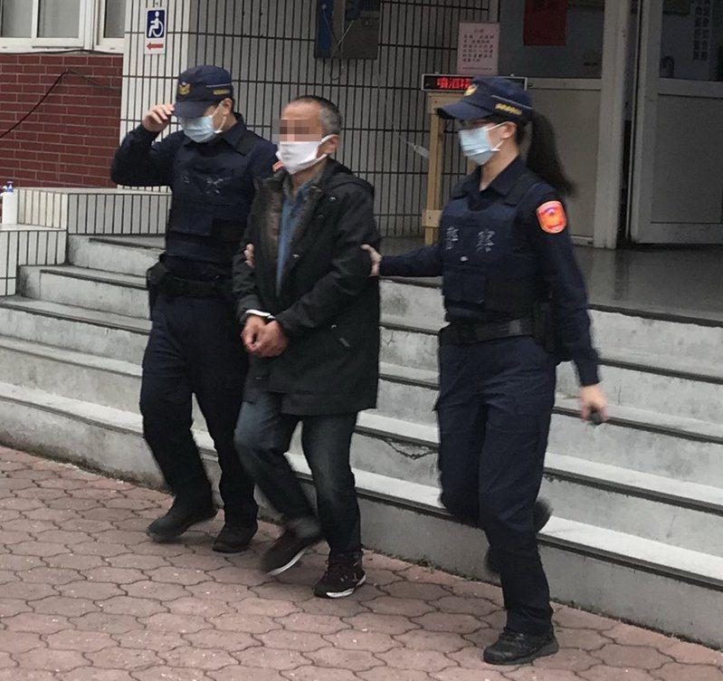 陳姓男子短短8天內涉嫌在竹南、頭份犯下8件汽機車竊案,被警方查獲移送法辦。圖/記者胡蓬生翻攝