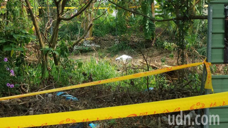 偵辦高雄桶屍案專案人員查出桶屍死者疑是失蹤的林姓婦人。記者林保光/攝影