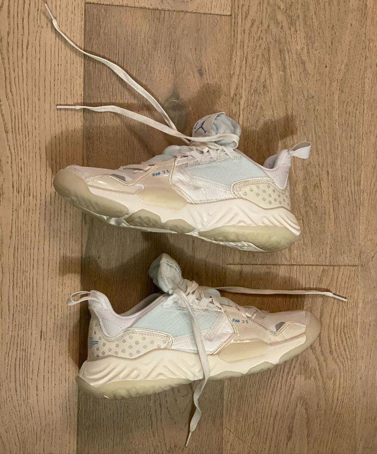 陳冠希在個人IG上,搶先曝光全新的Jordan Delta鞋款,引起關注。圖/摘...