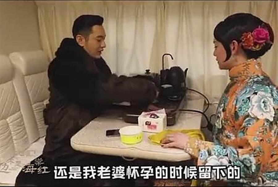 黃曉明稱呼Angelababy為老婆。圖/摘自微博