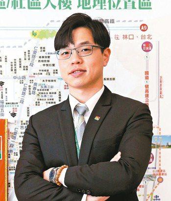 吳昭輝(信義房屋南崁六福店),35歲,入行8年 圖/信義房屋提供