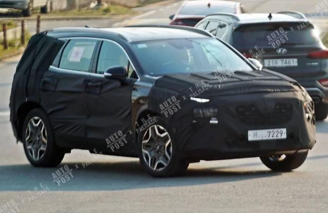 第四代Hyundai Santa Fe小改款車型將有Hybrid與Plug-in...