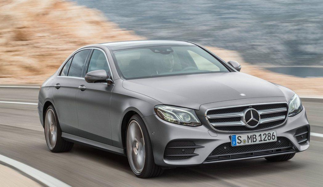 Mercedes-Benz E-Class自2018年10月起,便蟬聯了17個月...