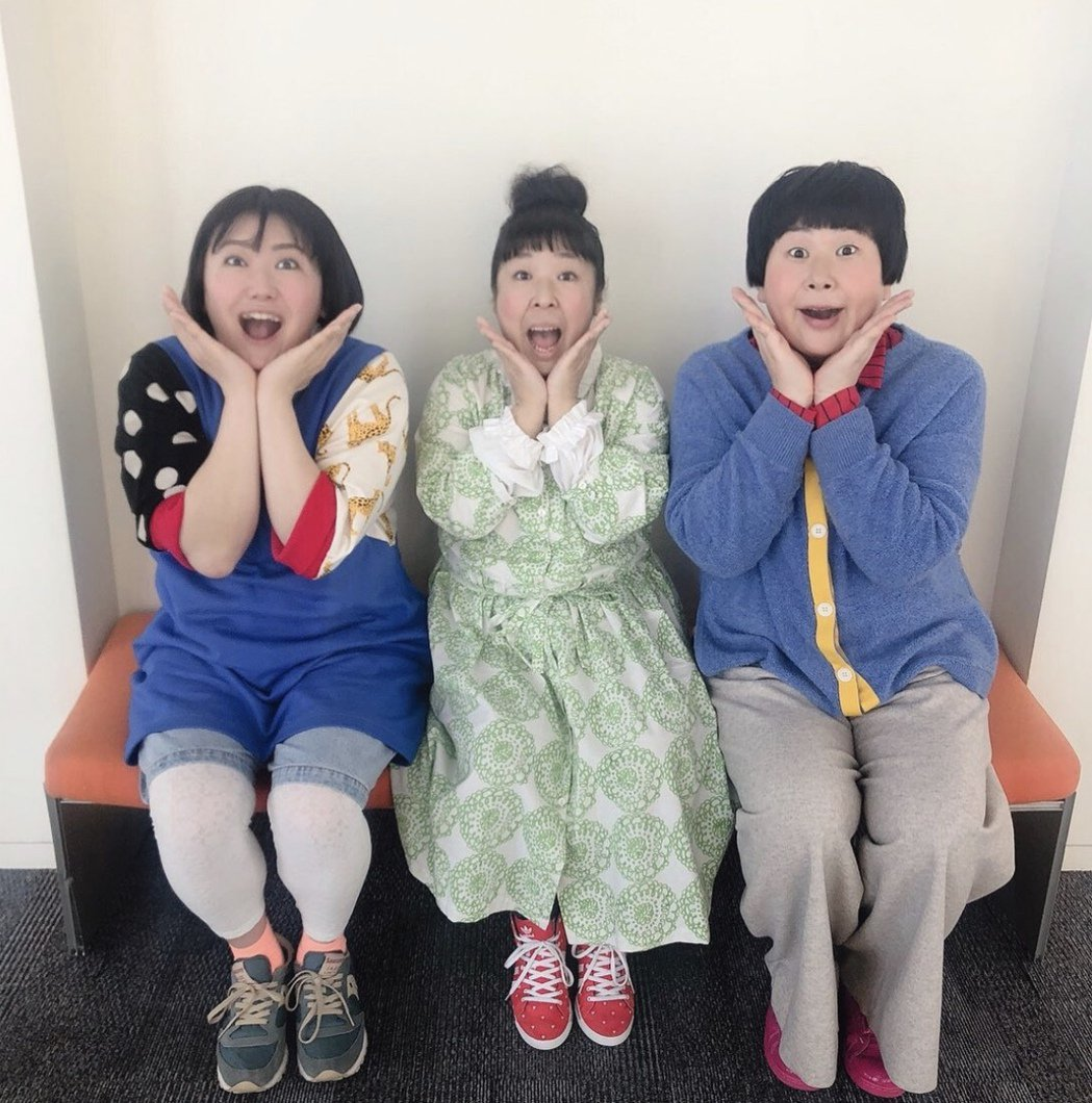 搞笑女團「森三中」成員黑澤宗子(左)確診染上新冠肺炎。圖/摘自IG