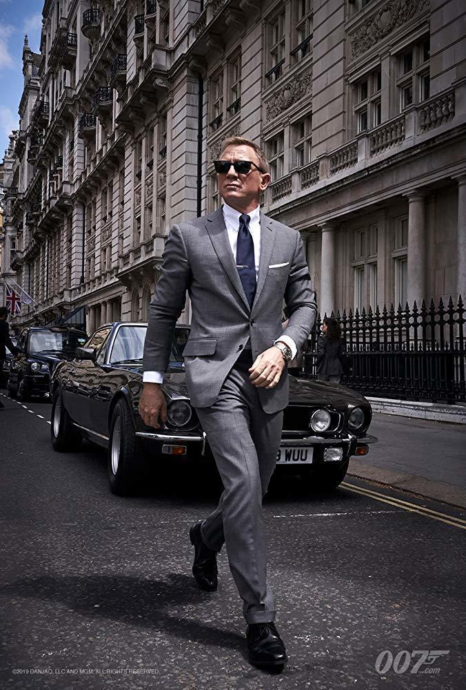 全球影迷本來再等幾天就能看到「007生死交戰」,現在要再等7個多月。圖/摘自im...