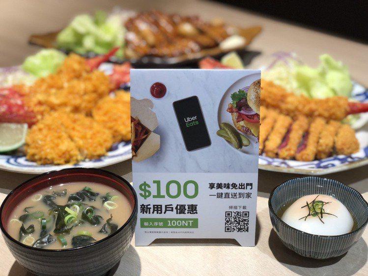 新竹市Big City遠東巨城購物中心與Uber Eats合作推出美食外送服務,...