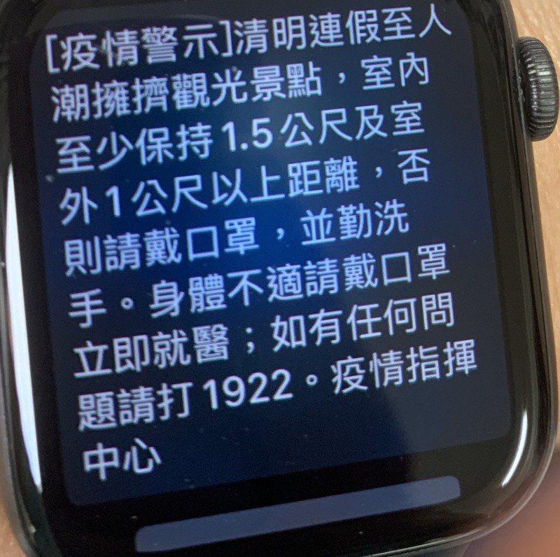 台南地區有民眾也受到指揮中心疫情警示。記者吳淑玲/攝影