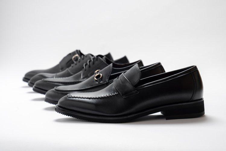 以人造纖維替代皮革的Gullar皮鞋,主張:不傷害動物,從行開始。圖 / Gul...