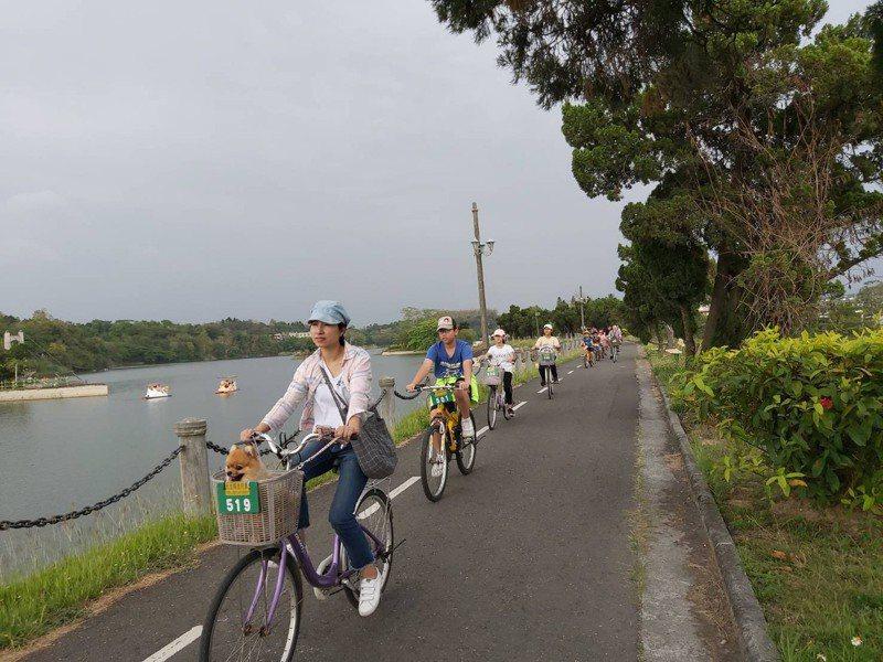 虎頭埤風景區。圖/台南市觀光旅遊局提供