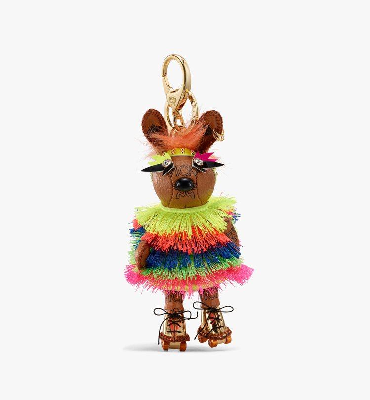 Zoo Disco兔子吊飾,售價15,000元。圖/MCM提供