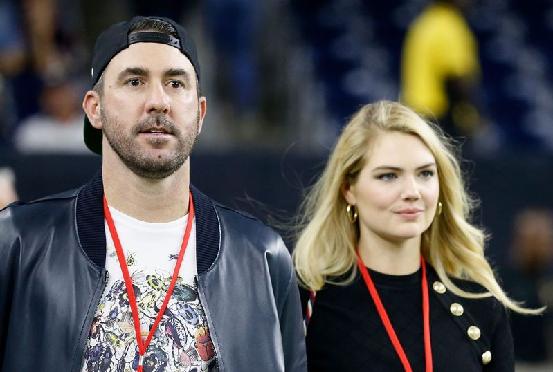 韋蘭德(左)與妻子。 法新社