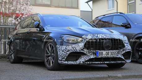 小改款Mercedes-AMG E63車系曝光 可能於四月底發表