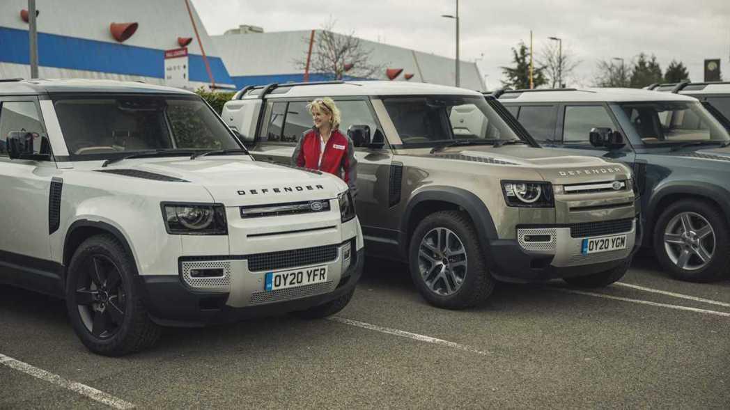 Jaguar Land Rover在全球支援超過160多輛車,其中,將近60台車...