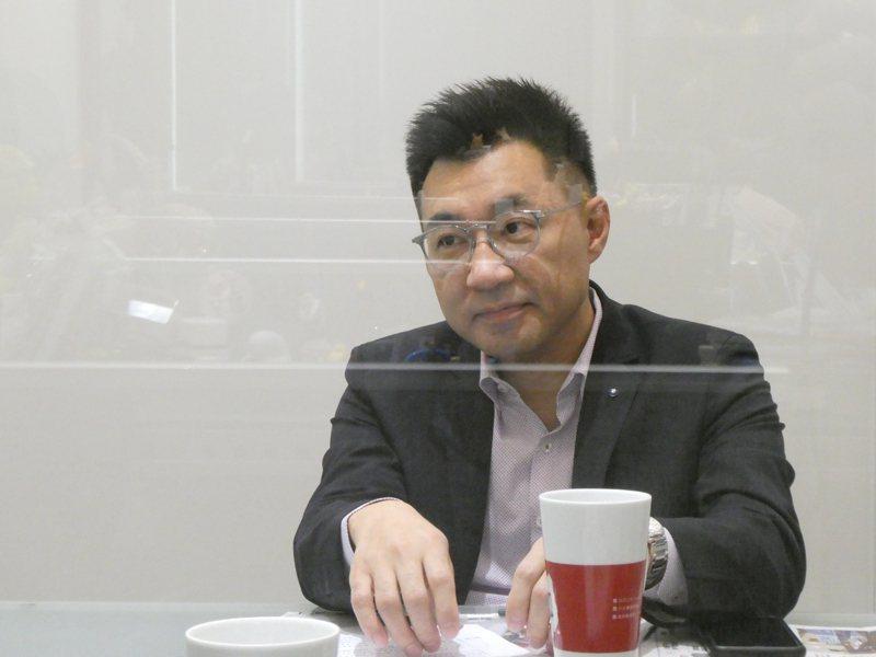國民黨主席江啟臣下周將就任滿一個月。記者周志豪/攝影