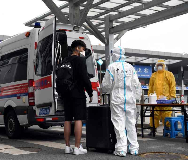 廣東新增5本土病例,2患者為兒童,最小只有3歲。(新華社)