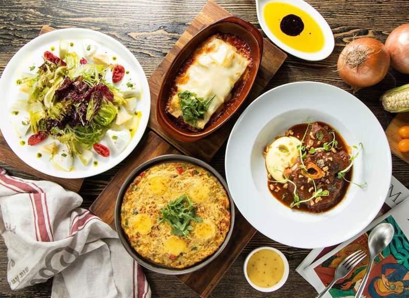 鬍子餐酒店內供應多樣的料理。圖/取自鬍子餐酒 Baffi Italian Trattoria(Taipei)粉絲頁